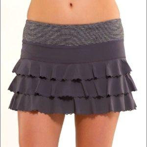 COPY - Lululemon Weightless skirt (skort) charcoa…